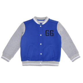 Blue Baseball Jacket | Gardner and the Gang