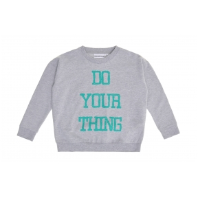 Light Sweatshirt Do Your Thing Grey | Gardner and the Gang
