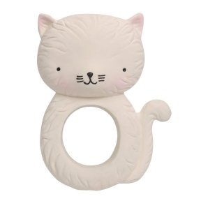 Teething ring: Kitty | A Little Lovely Company