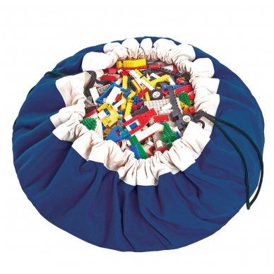 Krepšys Žaislams Mėlynas   Play&Go