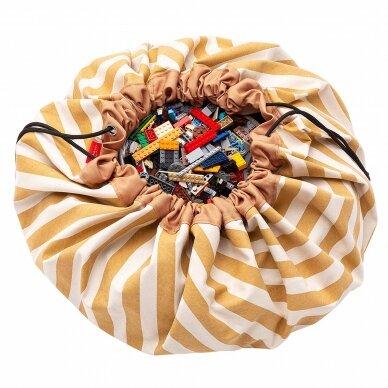 Krepšys žaislams Rudi Dryžiai 3