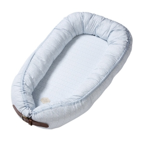 Kūdikėlio pagalvė/lizdelis - Indian, Nordic Blue | Filibabba