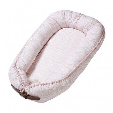 Kūdikėlio pagalvė/lizdelis - Indian, Dusty Rose | Filibabba