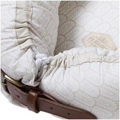 Kūdikėlio pagalvė/lizdelis - Indian, Warm Grey   Filibabba 2
