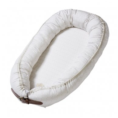 Kūdikėlio pagalvė/lizdelis - Indian, Warm Grey   Filibabba