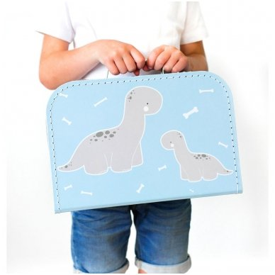 Lagaminėlis: Mažylis Brontozauras   A Little Lovely Company 3