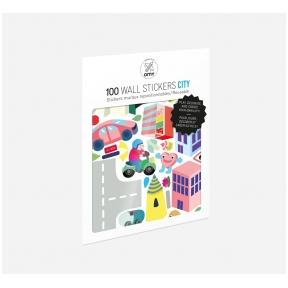 Set of stickers CITY 100 pcs | OMY