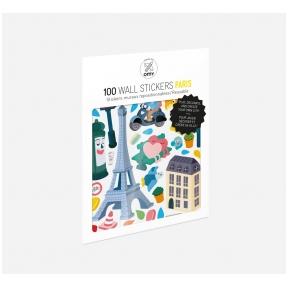 Set of stickers PARIS 100 pcs | OMY