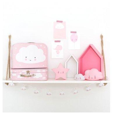 Maža Debesėlio Lempa Rožinė | A Little Lovely Company 5