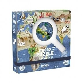 Micro puzzle DISCOVER THE WORLD, pocket, 600 pcs. 6+ y.