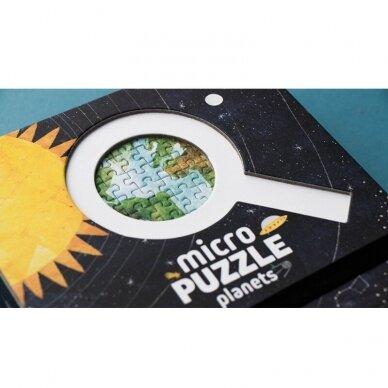 Mikro dėlionė PLANETOS, 600 dalių, 6+ m. 8
