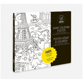OMY Giant Coloring Poster - Paris