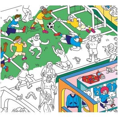 OMY Spalvinimo Plakatas - Futbolas 3