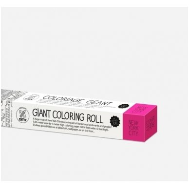 OMY Giant Coloring Roll XXL New York