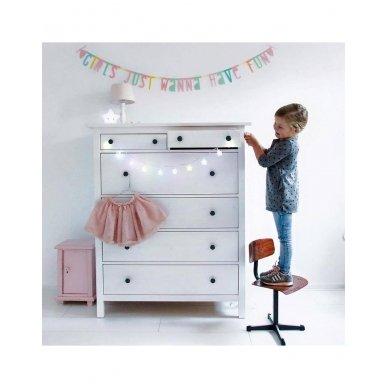 Pastelinių raidžių girlianda | A Little Lovely Company 3