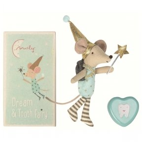 Mouse Tooth Fairy Bow with Metal Box | Maileg