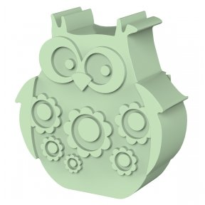 Lunchbox Owl Light Green | BLAFRE