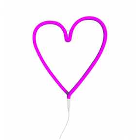 Širdelės lempa Rožinė | A Little Lovely Company