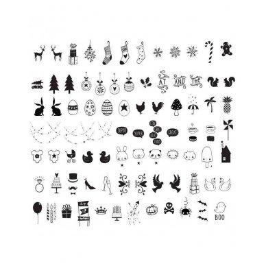 Simbolių rinkinys Lempai: Celebrations | A Little Lovely Company