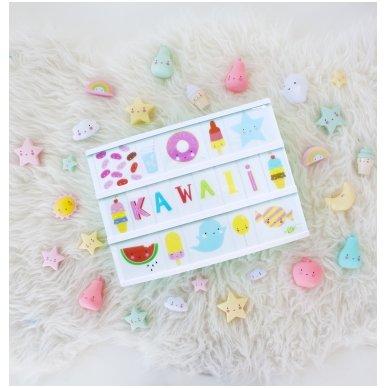 Simbolių rinkinys Lempai: Kawaii   A Little Lovely Company 2