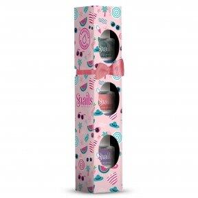 SNAILS 3 mini Nail polish set VERY BERRY LICIOUS