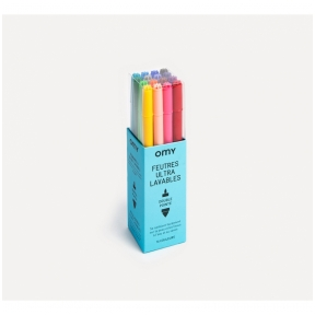 Felt Pens Ultrawashable 16 pcs | OMY