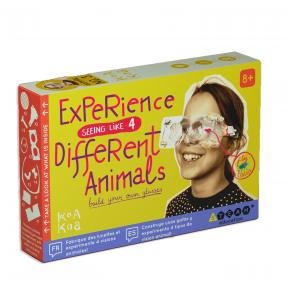 STEAM set EXPERIENCE DIFFERENT ANIMALS, 8+ y.