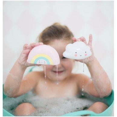 Vonios žaislas - Vaivorykštė | A Little Lovely Company 6