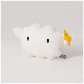 White Ricestorm Plush Toy | Noodoll