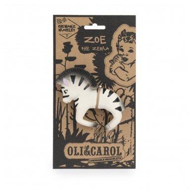 Zebras Zoe kramtukas apyrankė   Oli&Carol 4