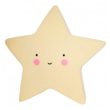 Žvaigždutės lempelė Geltona | A Little Lovely Company