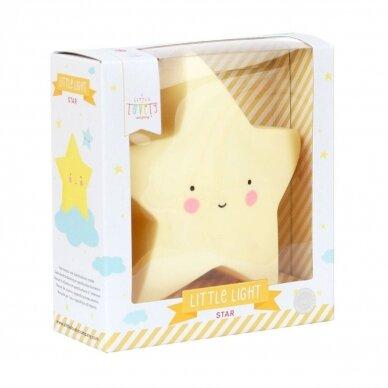 Žvaigždutės lempelė Geltona | A Little Lovely Company 2