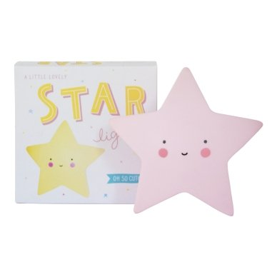 Žvaigždutės lempelė Rožinė | A Little Lovely Company 2