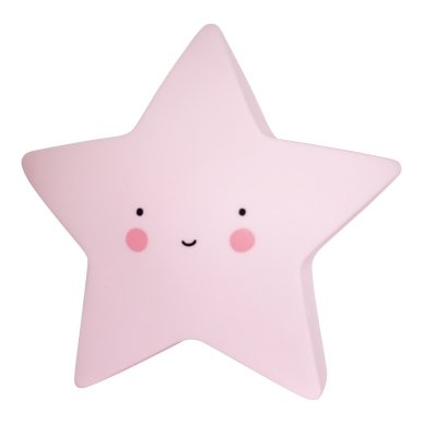 Žvaigždutės lempelė Rožinė | A Little Lovely Company