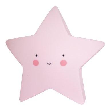Žvaigždutės lempelė Rožinė   A Little Lovely Company